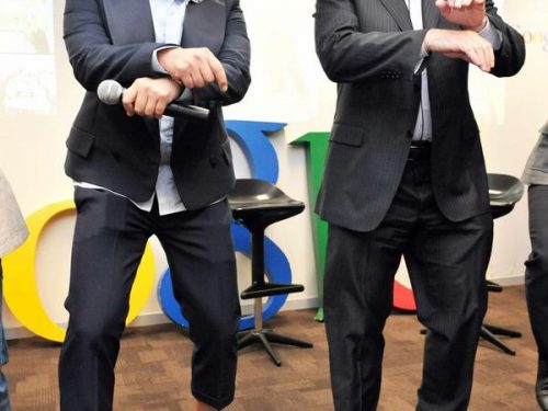 Eric Schmidt – Gangnam Style Dance