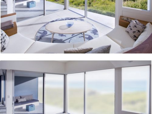 Sonte Technology Instantly Transforms Window Transparency via iOS or Android Device