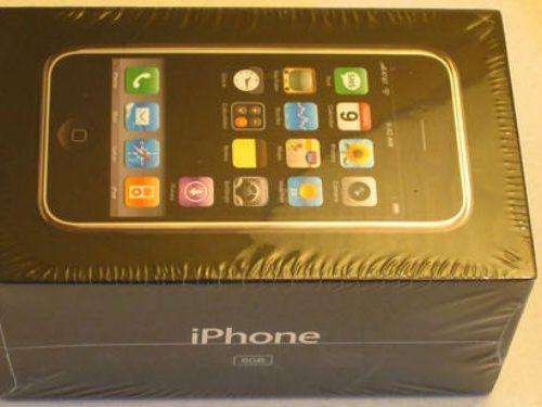 Original iPhone Selling for £1,399