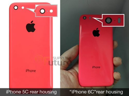Purported Rear Shell of 4-Inch iPhone 6c Surfaces