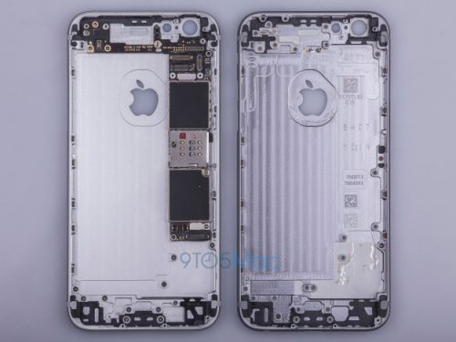 Purported Images iPhone 6s Body Leaked
