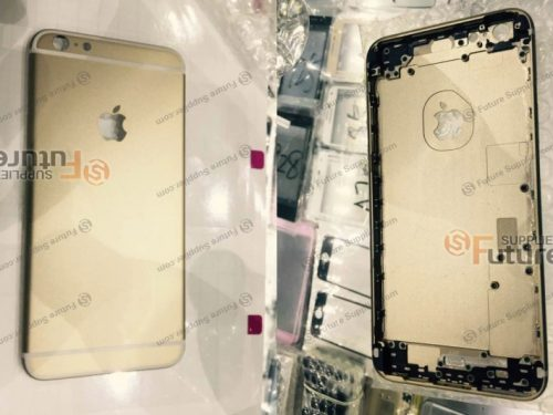 Alleged Images  of iPhone 6s Plus Rear Casing Suggest Stronger Body Work